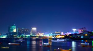 Lights over Pattaya Bay